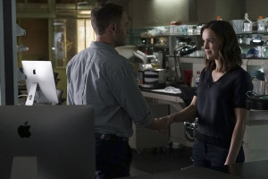 """MARVEL'S AGENTS OF S.H.I.E.L.D. - """"Bouncing Back"""" - In the midseason premiere, """"Bouncing Back,"""" in the aftermath of his trip to Maveth, Coulson is more determined than ever to get to Gideon Malick and put an end to Hydra once and for all. Meanwhile, Daisy and the team encounter more Inhumans who have powers like they've never seen before, but will they be friends or enemies of S.H.I.E.L.D.? """"Marvel's Agents of S.H.I.E.L.D."""" returns for a game-changing second half of Season Three, TUESDAY, MARCH 8 (9:00-10:00 p.m. EST) on the ABC Television Network. (ABC/Eric McCandless) IAIN DE CAESTECKER, ELIZABETH HENSTRIDGE"""